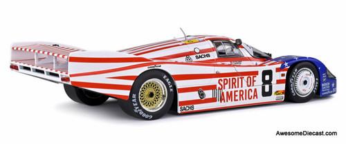Solido 1:18 1986 Porsche 956LH #8: 24 Hours Le Mans