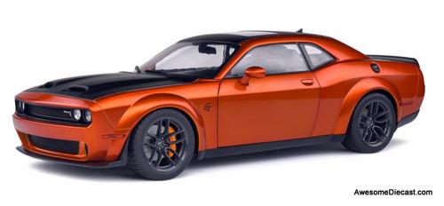 Solido 1:18 2020 Dodge Challenger SRT Hellcat Redeye Widebody, Metallic Orange