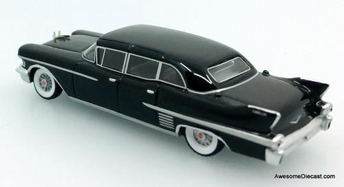 BoS 1:87 1957 Cadillac Fleetwood 75 Limousine, Black