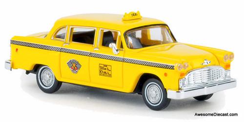 Brekina 1:87 Checker Taxi Cab: New York 2