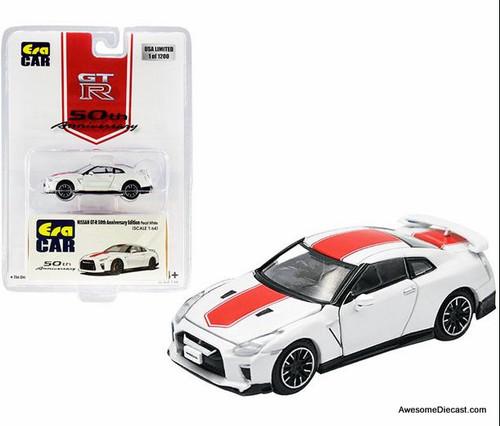 Era Car 1:64 Nissan GT-R 50th Anniversary Edition, Pearl White