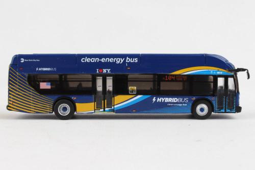 Iconic Replicas 1:87 New Flyer Xcelsior XN/Hybrid Transit Bus: New York City MTA