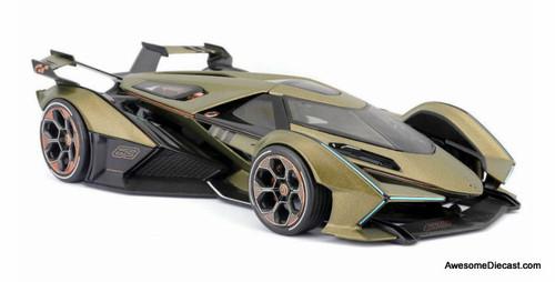Maisto 1:18 Lamborghini V12 Vision Gran Turismo, Matt Green