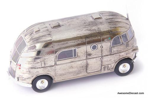 AUTOcult 1:43 1940 Hunt Hollywood House Car, Chrome