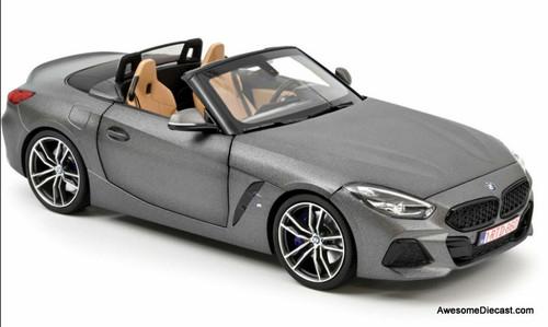 Norev 1:18 2018 BMW Z4  Roadster, Matt Gray