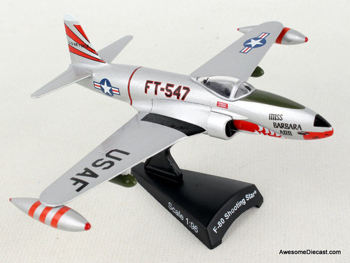 Postage Stamp 1:96 Lockheed F-80 Shooting Star: United States Air Force
