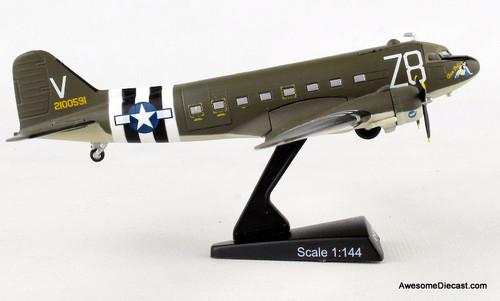 Postage Stamp 1:144 McDonnell Douglas C-47 Skytrain: Tico Belle