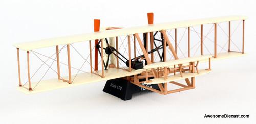 Postage Stamp 1:72 Wright Flyer Canard Biplane
