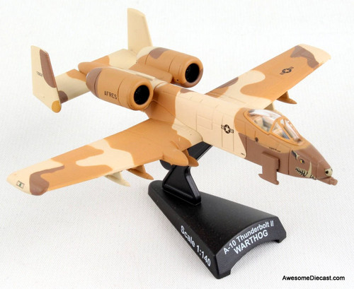 Postage Stamp 1:140 Fairchild Republic A-10 Thunderbolt II Warthog, Peanut Scheme: U.S. Air Force