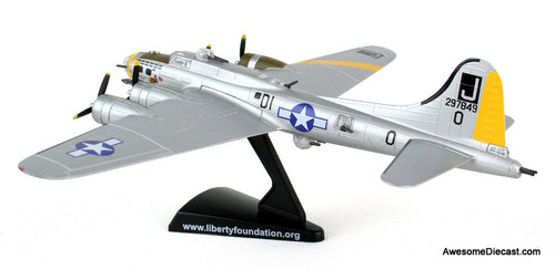 Postage Stamp 1:155 Boeing B-17G Flying Fortress: Liberty Belle