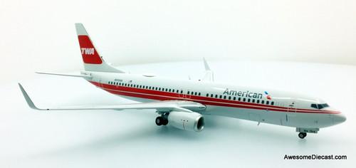 Gemini 200 1:200 Boeing 737-800: American Airlines, TWA Livery