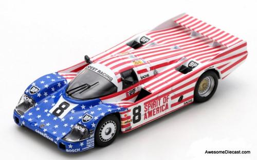 Spark 1:64 1986 Porsche 956LH #8: 24 Hours Le Mans