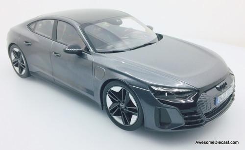 Norev 1:18 2021 Audi GT RS E-Tron, Metallic Gray