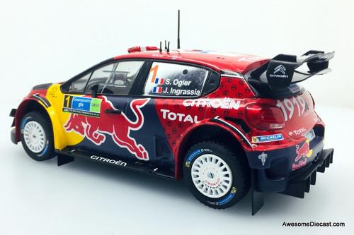 IXO 1:34 2019 Citroen C3 WRC #1: S. Ogier/J. Ingrassia Winners 2019 Mexican Rally
