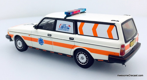 Triple 9 Collection 1:43 1983 Volvo 240 Wagon: National Police Corps Holland