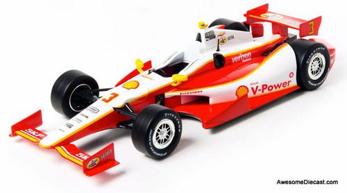 Greenlight 1:18 2012 NTT IndyCar #3: Helio Castroneves