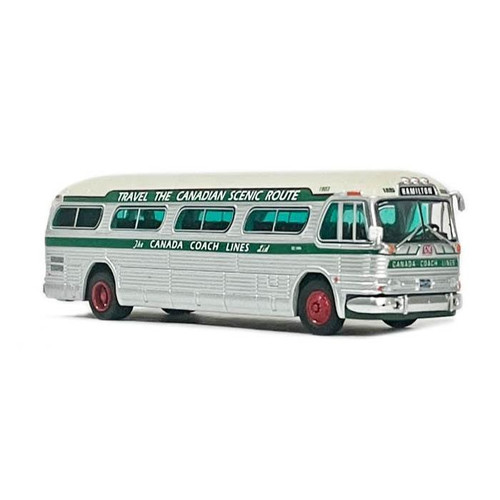 Iconic Replicas 1:87 GM PD4104 Motorcoach: Canada Coach Lines