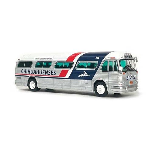 Iconic Replicas 1:87 GM PD4104 Motorcoach: Chihuahuenses (Mexico)