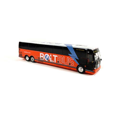 Iconic Replicas 1:87 Prevost X3-45 Coach: BoltBus