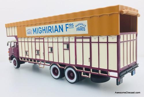 Hachette 1:43 1968 Berliet GPR 12 Fruit And Vegetable Truck: Mighirin Fres