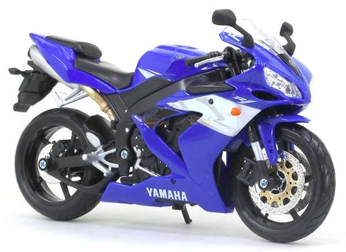 Maisto 1:12 Yamaha YZF-R1 Motor Cycle, Blue