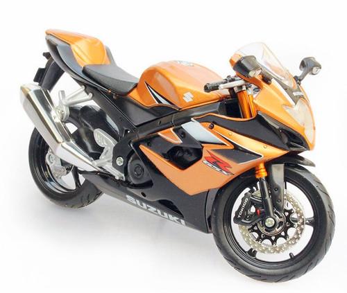 Maisto 1:12 Suzuki GSX-R1000 Motor Cycle, Bronze