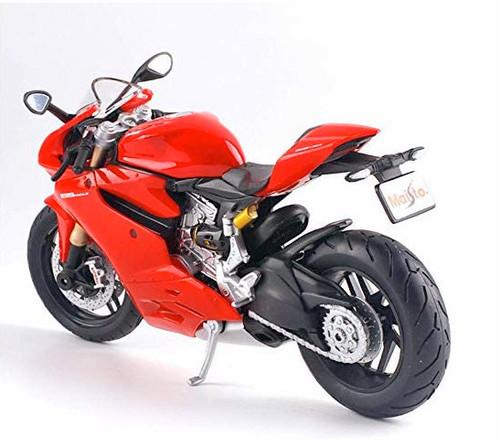 Maisto 1:12 Ducati 1199 Panigale Motor Cycle, Red