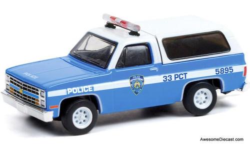 Greenlight 1:64 1985 Chevrolet K-5 Blazer: New York Police Department
