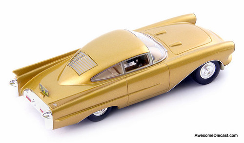 Avenue43 By AutoCult 1:43 1954 Oldsmobile Cutlass Concept, Metallic Gold