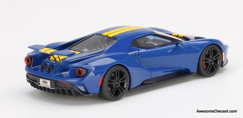 TSM 1:43 Ford GT, Sunoco Blue