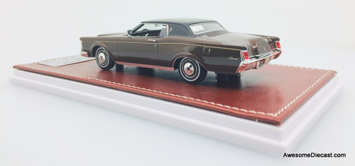 Only One!! GLM 1:43 1971 Lincoln MK111, Chocolate Brown Metallic