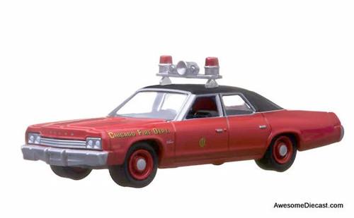 Greenlight 1:64 1974 Dodge Monaco: Chicago Fire Department