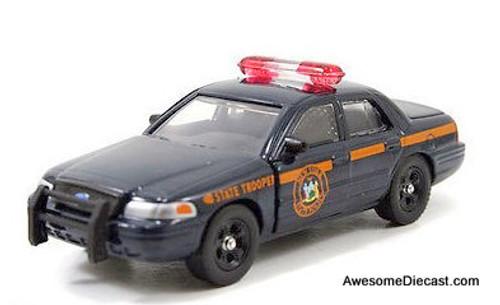 Jada 1:64 Ford Crown Victoria Police Interceptor: New York State Trooper