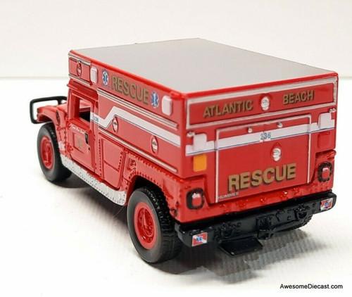 Johnny Lightning 1:64 Hummer H1: Atlantic Beach Rescue