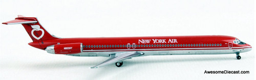 Gemini Jets 1:400 McDonnell Douglas MD-80: New York Air