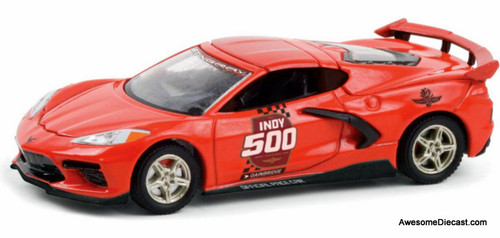 Greenlight 1:64 2020 Chevrolet Corvette C8: Indy 500 104th Running Official Pace Car