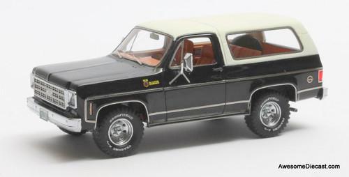 Matrix 1:43 1978 Chevrolet Blazer K5, Black/White