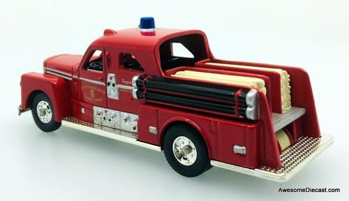 Corgi Fire Heroes 1951 Seagrave 70th Anniversary Sedan Pumper: San Francisco Fire Department