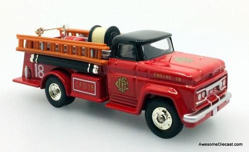 Corgi Fire Heroes 1966 GMC Fire Pumper: Chicago Fire Department