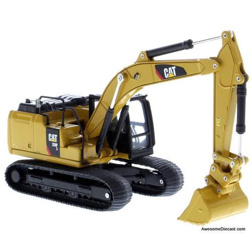 Diecast Masters 1:64 Caterpillar 320FL Hydraulic Excavator w/Accessories