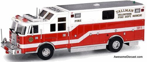 Code 3 1:64 Pierce Heavy Rescue 20: Tallman Fire Department, New York