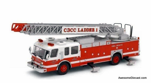 Code 3 1:64 E-One Rear Mount Ladder L1: Code 3 Collectors Club Membership Edition