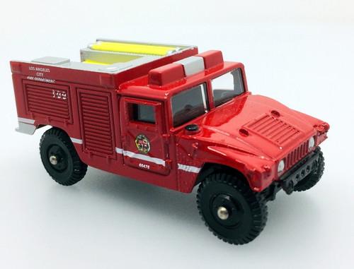 Corgi Fire Heroes  HMMWV Fire Pumper: Los Angeles Fire Department