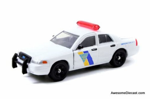 Only One!! Jada 1:64 Ford Crown Victoria Interceptor: New Jersey State Police Force