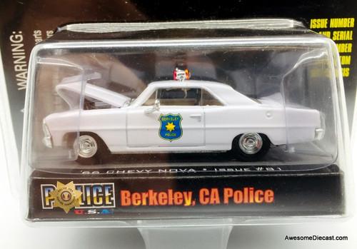Racing Champions 1:64 1966 Chevrolet Nova: Berkeley Police Department, California