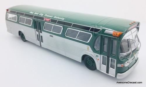 Corgi 1:50 GM Fishbowl Bus New York Transit Authority