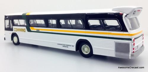 RARE!! Corgi 1:50 GM Fishbowl Bus: Command Bus Lines, New York