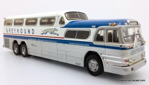 Corgi 1:50 GM PD-4501 Greyhound SceniCruiser: Destination, Washington DC
