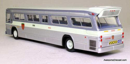 RARE!! Corgi 1:50 GM 5300 Fishbowl Bus: Gray Coach Lines, Canada