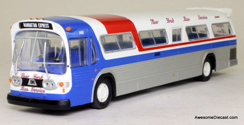Corgi 1:50 GM Fishbowl Bus: New York Bus Service
